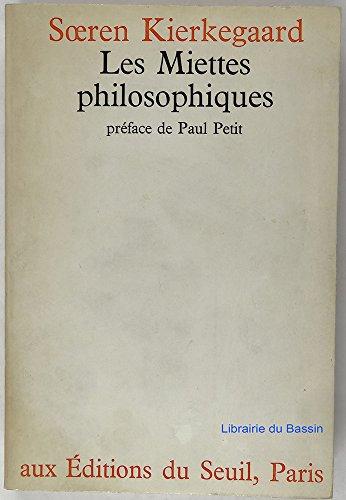 9782020027083: Les Miettes philosophiques