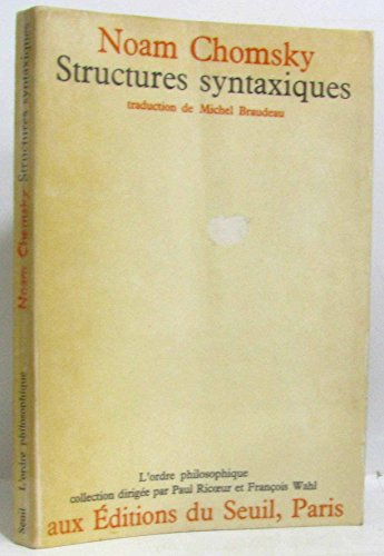 9782020027335: Structures Syntaxiques