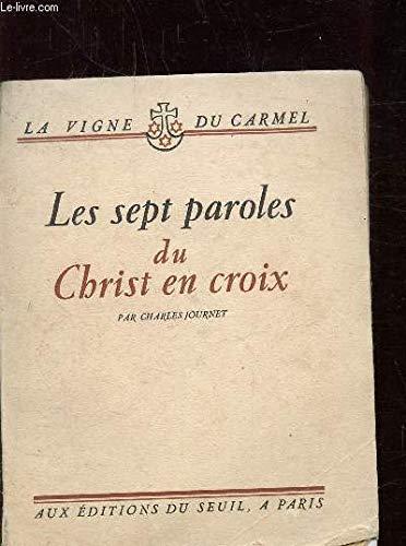 Les Sept Paroles du Christ en croix: Journet, Charles