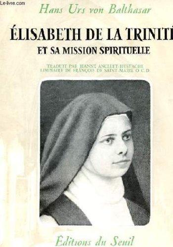9782020030533: Elisabeth de la trinité (Religion)