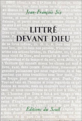 Littre Devant Dieu (2020030721) by Jean Francois Six