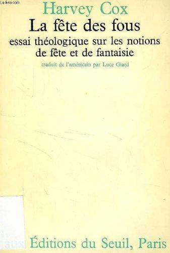 La fête des fous (9782020031806) by Harvey Cox