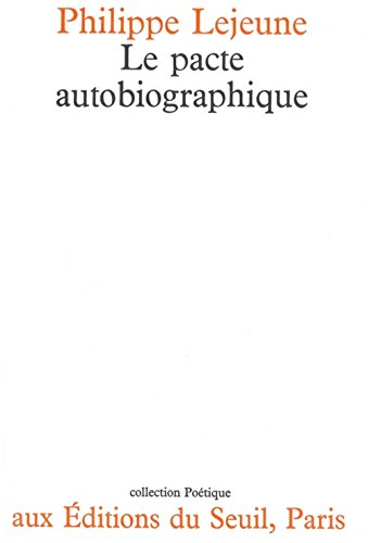 9782020042932: Le pacte autobiographique