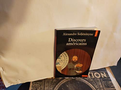 Discours américain: SOLJENITSYNE ALEXANDRE