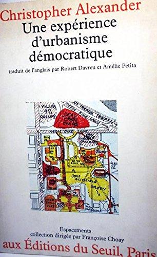 9782020043359: Une exp�rience d'urbanisme d�mocratique