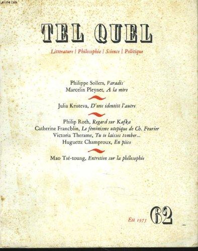9782020045711: Tel Quel.