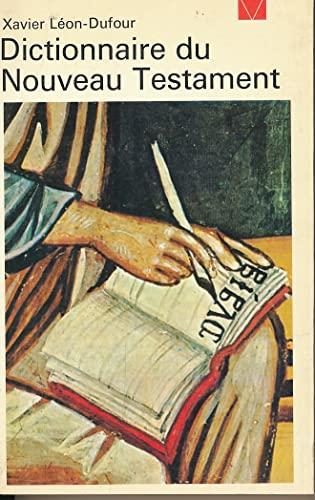 9782020048842: Dictionnaire du Nouveau Testament