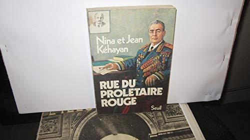 9782020050609: Rue du prolétaire rouge: Deux communistes français en URSS (French Edition)
