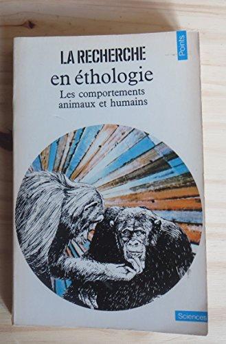 9782020050807: La Recherche en éthologie : Les comportements animaux et humains (Points Sciences)