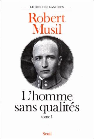 9782020051897: L'homme sans qualités tome 1