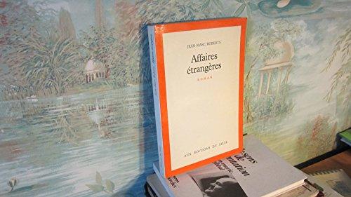 9782020052641: Affaires étrangères : roman