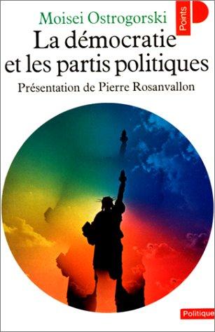 9782020052863: La démocratie et les partis politiques