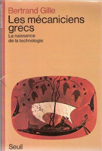 9782020053952: Les Mécaniciens Grecs