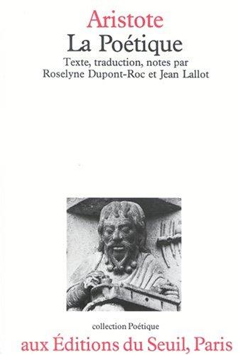 La poetique (Collection Poetique) (French Edition): Aristotle