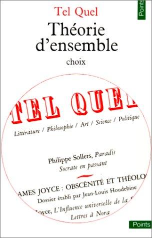 9782020057080: Tel Quel. Théorie d'ensemble (choix)