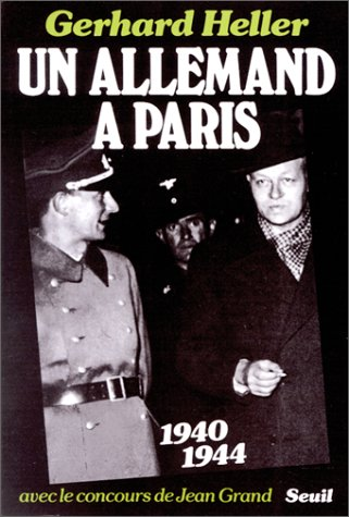 9782020058346: Un Allemand à Paris: 1940-1944 (French Edition)