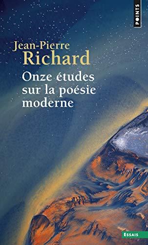 9782020059701: Onze études sur la poésie moderne