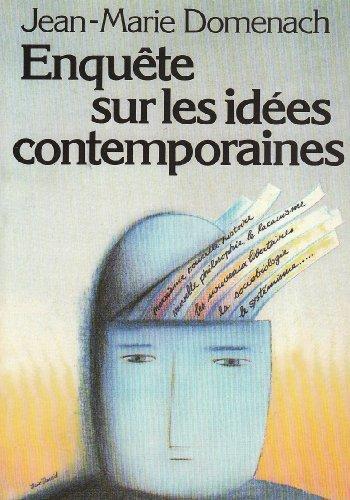 9782020059831: Enquête sur les idées contemporaines (French Edition)