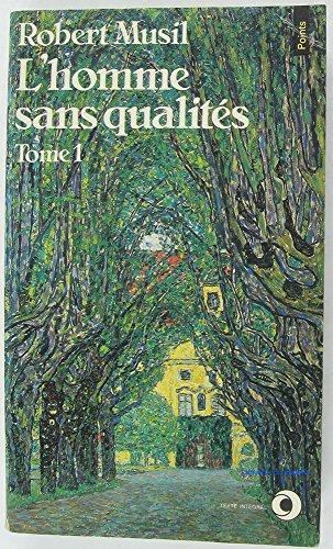 9782020060738: Homme sans qualités, tome 1