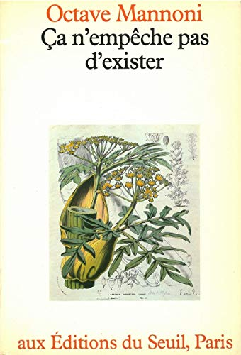 9782020062732: Ca n'empeche pas d'exister (French Edition)