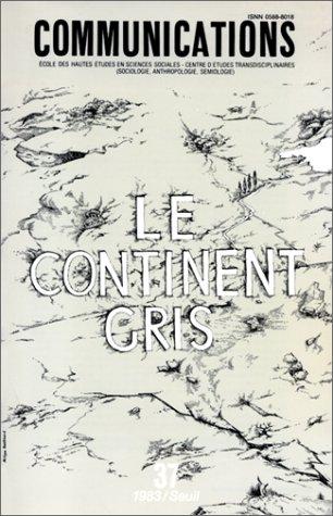 9782020063500: Le Continent gris