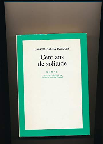 9782020063883: Cent ans de solitude