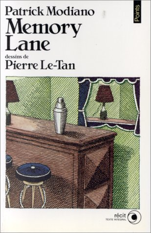 MEMORY LANE - COLLECTION POINTS N°R107: MODIANO PATRICK