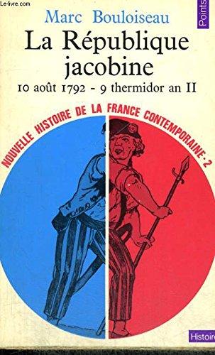 9782020065375: La République jacobine (10 août 1792 - 9 thermidor an II)