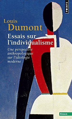 9782020066136: Essais sur lindividualisme: Une perspective anthropologique sur lidéologie moderne (Esprit)