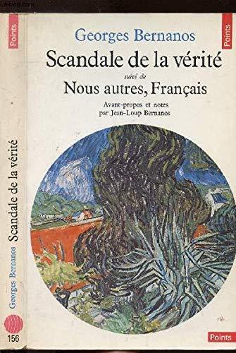 9782020066914: SCANDALE DE LA VERITE SUIVI DE NOUS AUTRES, FRANCAIS