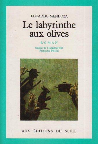 9782020085113: Le Labyrinthe aux olives