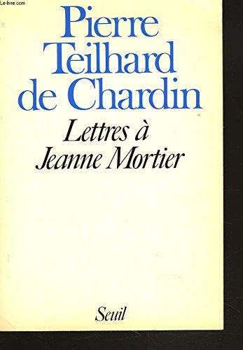 9782020085120: Lettres à Jeanne Mortier