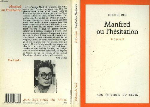 9782020088886: Manfred ou l'hesitation