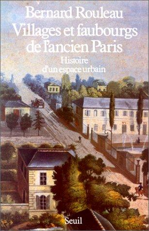 9782020088961: Villages et faubourgs de l'ancien Paris