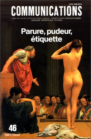 9782020098076: Parure, pudeur, �tiquette
