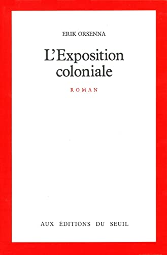 9782020100175: L'Exposition coloniale