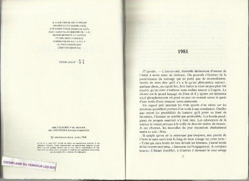 9782020100816: L'arc-en-ciel: 1981-1984 (Journal) (French Edition)
