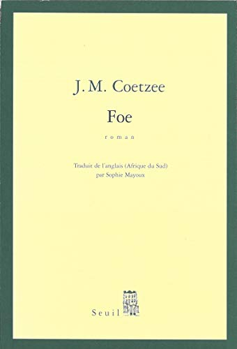 Foe (Cadre vert): J-M Coetzee