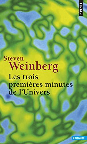 9782020104852: Les trois premi�res minutes de l'univers : Edition 1988 (Points Sciences)