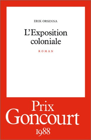 9782020105774: L'exposition coloniale