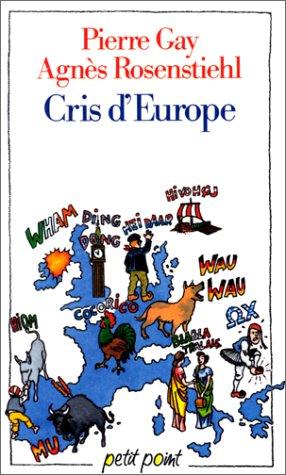 9782020114011: Cris d'Europe