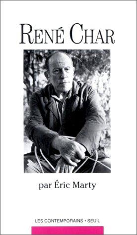 9782020115254: René Char (Les Contemporains) (French Edition)