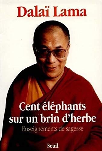 9782020115681: Cent Eléphants sur un brin d'herbe. Enseignements