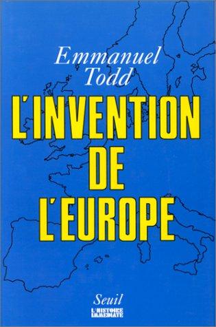 9782020115728: L'invention de l'Europe (L'histoire immédiate)