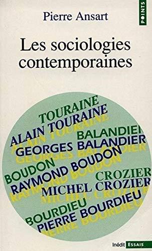 9782020115872: Les sociologies contemporaines