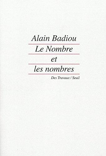 9782020116121: Le nombre et les nombres (Des travaux) (French Edition)