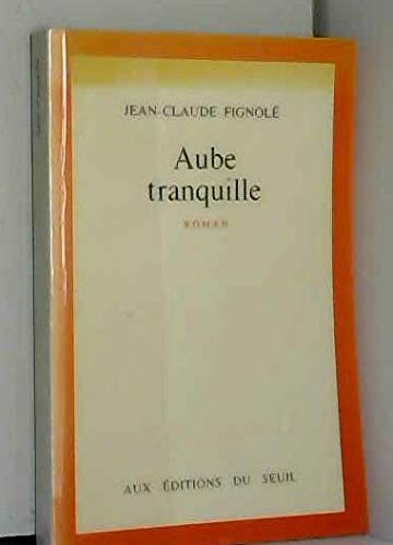 9782020116176: Aube tranquille: Roman (French Edition)