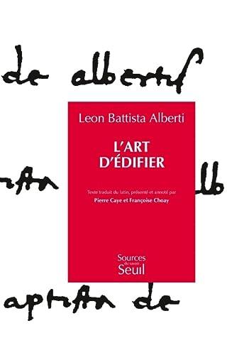 9782020121644: l'art d'edifier