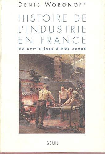9782020123693: Histoire de l'industrie en France