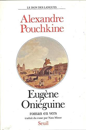 9782020124706: Eugène Oniéguine : Roman en vers (Le don des langues)
